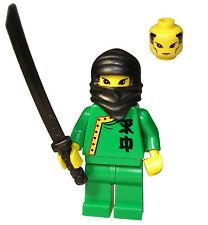 LEGO GREEN NINJA WARRIOR  MINIFIGURE NEW