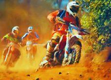 Motocross Motorcycle Bike Sport HD POSTER