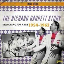 RICHARD BARRETT - RICHARD BARRETT STORY: SEARCHING FOR A HIT, 1954-1962 NEW CD