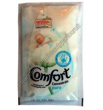 Comfort Concentrate Pure 55ml Laundrette Travel Washing Machine Liquid Sachet