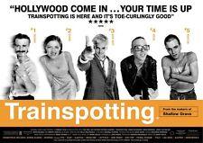 Trainspotting Affiche Du Film Film Classique Rétro New Affiche A3 A4