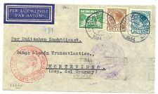 NEDERLAND LUFTHANSA  1934-12-28-URUGUAY ( TR CT 92½ ) BUSINESS CV  FINE FRAAI
