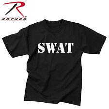 Rothco 6614 SWAT 2-Sided T-Shirt - Black