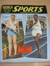 Nov-51 World Sports Magazine: T bryngeirsson (ISLANDA) & Arthur WINT (GIAMAICA) -
