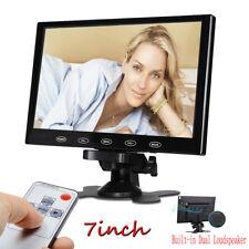 "7""/9""/10.1"" LCD Car Monitor HD PC Screen AV/RCA/VGA/HDMI for DSLR Raspberry Pi"