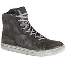 Dainese Street Rocker D-WP Waterproof Hi Top Motorcycle Boots - Black
