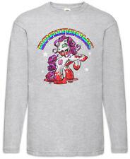 Brainbows III Long Sleeve T-Shirt Unicorn Zombie Brains Fun Geek Nerd Unicorns
