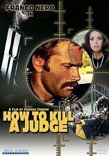 How to Kill a Judge (DVD, 2006) Franco Nero Damiano Damiani Eurocrime