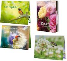 1 Postkartenbuch Tier Blume Rose Vogel Postkartenbücher Ansichtskarte Postkarte