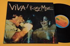 ROXY MUSIC LP VIVA ROXY MUSIC 1°ST ORIGINALE ITALY 1976 EX ! GATEFOLD COVER