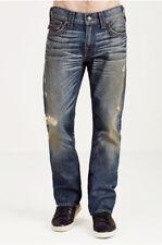 True Religion Men's Geno Jeans w/flap Triple Needle Stitch Street Vice MC910VP5