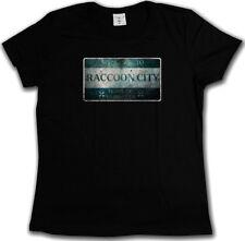 RACCOON CITY SIGN T-SHIRT Zombie Wesker Umbrella Logo Resident Nemesis Evil
