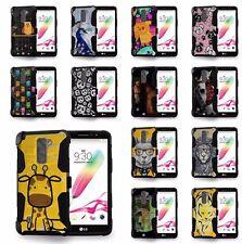 For LG G Stylo 2 LS775, G Stylus 2 K520 Hybrid Case Kickstand & Holster DESIGN