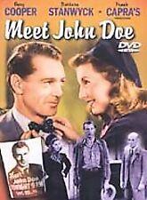 1941 Meet John Doe Gary Cooper Barbara Stanwyck Family Drama NEW DVD