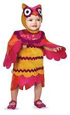 Owl Costume Girls Infant Toddler Bird Dress Hat Fancy Dress Cute Hoot 12-18M 2T