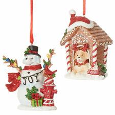 Dog House or Snow Dog Ornament