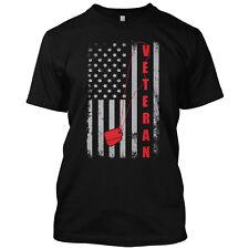 Veteran Flag American Military Memorial Patriotic T Shirt Graphic Tee