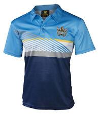 NRL Gold Coast Titans 2017 Platinum Polo  Sizes S - 5XL