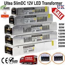 DC 12 V pequeñas LED Driver transformador de fuente de alimentación para tira de LED 60W-360W Reino Unido Stock
