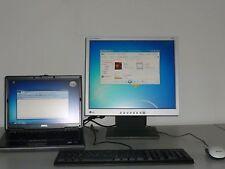 Dell LATITUDE D620 2X1,83Ghz 4 GB 500 GB Win 7 mit Dockingstation und Monitor