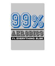 Percent Aerobics Of Everything Sticker - Portrait
