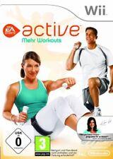 Nintendo Wii Spiel - EA Sports Active: Mehr Workouts (mit OVP)
