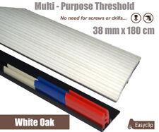 White Oak Multi Floor Transition Threshold Strip 180cmx38mm Multi-Height/Pivot
