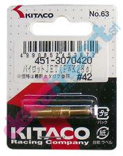 GETTO del MINIMO ricambio Pilot Jet KITACO Keihin PWK28 x Moto PitBike MiniGP
