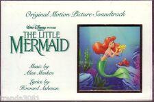 The Little Mermaid Walt Disney Soundtrack Cassette Rare 1991 Buena Vista Rare