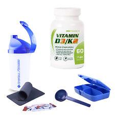 SRS Vitamin D3/K2 60 Kapseln Sport Fitness Vitamine Mineralien + BONUS