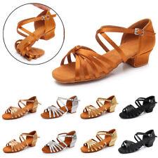 Children child Girl kids Women Ballroom Latin Salsa Tango Dance Dancing Shoes