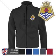 HMS Tidesurge - Royal Navy - Softshell Jacket - Personalised text available