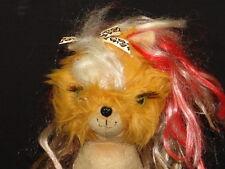 SPIN MASTER TINY PUPPINI PUNK ROCK HAIR PUPPY DOG PLUSH STUFFED ANIMAL TOY