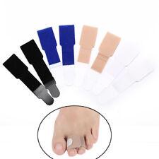 2Pcs rubber gel toe straightener separator bunion corrector  pain relief nPLCA