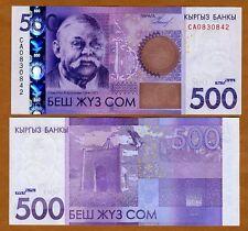 Kyrgyzstan, 500 Som, 2010, P-NEW, OVD strip, UNC