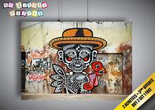 Poster BANKSY STREET ART COOL MAN GRAFFITI Wall Art