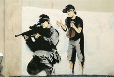 Qualité Banksy Art Photo Print (Boo sniper COP)