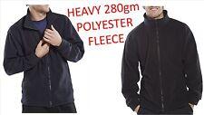 Uomini Donne In Pile Con Zip Giacca Invernale Resistente Abbigliamento Da Lavoro