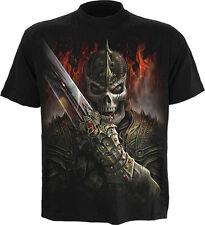 Espiral Dragon Warrior Camiseta-Negro