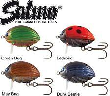 Salmo Lil Bug Wobbler 3cm 4,3g schwimmend, Raubfischköder, Köder für Forelle