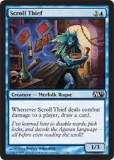 4x Scroll Thief MTG Regular NM, English Magic 2011 (M11)