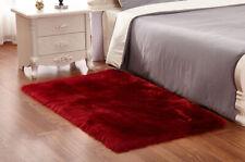 Fluffy Faux Sheepskin Rugs Large Shaggy eco pelt STUNNING Fur Gift 4' x 6'
