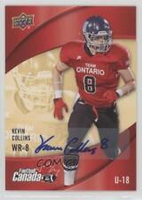 2013 Upper Deck USA Football Canada Rivals Autographs #C-6 Kevin Collins Auto