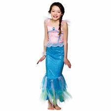 Girls Mystical Mermaid Costume Ariel Sea Princess Fairytale Hero Fancy Dress
