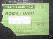 ROMA - BARI TICKET BIGLIETTO 1998/99 SERIE A