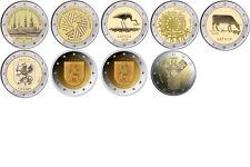 2 Euro Sondermünzen LETTLAND ab 2014 alle Jahre - frei wählbar - prägefrisch