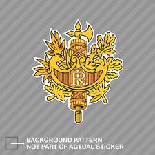 French National Emblem Sticker Decal Vinyl France flag FRA FR