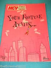 MCV MAGAZINE - JULY 31 2001 - MONOPOLY TYCOON