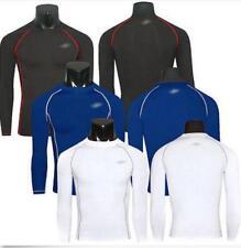 Hot Mens Gym Rash Guard Sweater Long Sleeve Slim Shirts Wetsuit Athlete Tops @Y