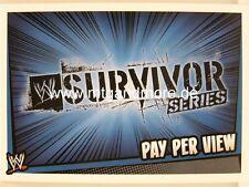 Slam Attax Rumble-Survivor Series-Pay Per View